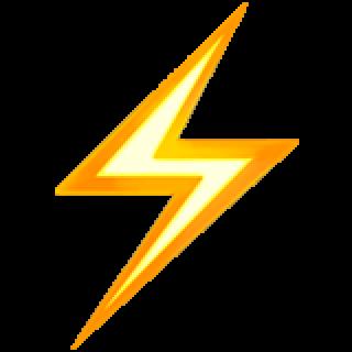 Thunder emoji